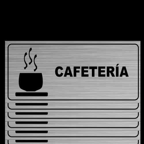 G14 placa grabada cafeteria
