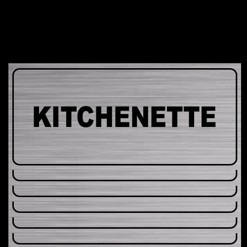 G20 placa grabada Kitchenette