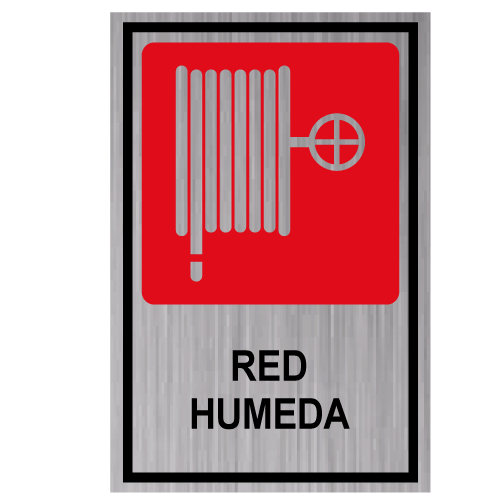 GS16 placa grabada red humeda