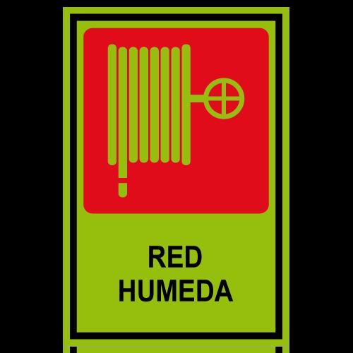 SF01 placa fotoluminiscente red humeda