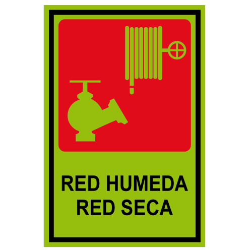 SF03 placa fotoluminiscente red humeda red seca